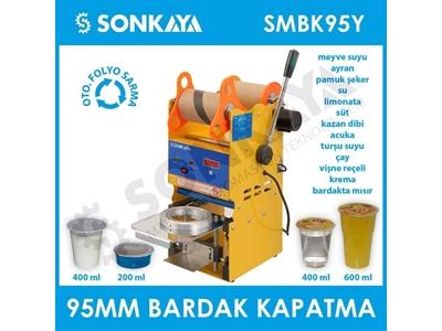 95Mm Yarı Otomatik Bardak Kapatma Makinası Smbk95y Sonkaya