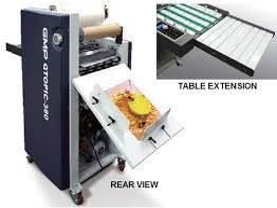 Qtopıc-380 Yarı Otomatik Laminasyon Makinası