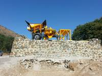 Mini Mobil Beton Santrali 30 Ton - İns Makina Mp30