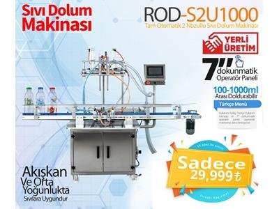 Tam Otomatik Sivi Dolum Makinası Rod-S2u1000 --Kısa Süreli Kampanya