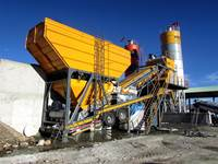 İns Makina 100 M3 H Mobile Concrete Batching Plant