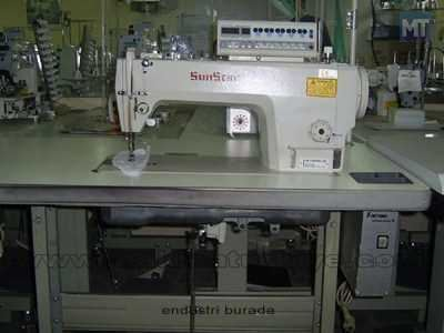 Sunstar Direct Drive Elektronik Düz Makina