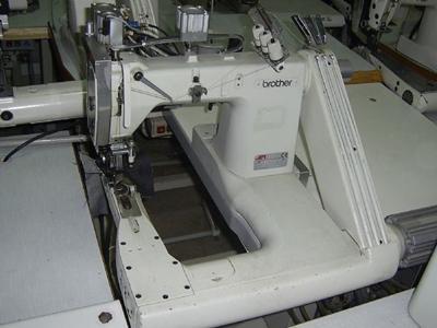 Full Otomatik 3 İğne Kollu Makinası