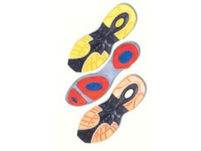 Termo Taban Üç Renk Ayakkabı Taban Makinası