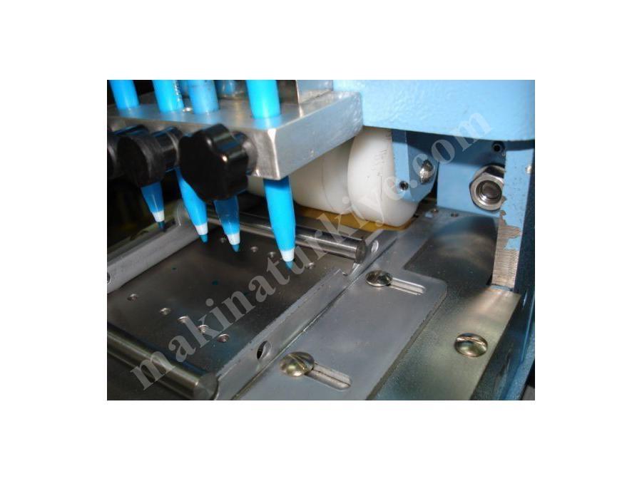 Kordon Lastik Şerit Fermuar Kesme Makinası