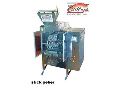 Stick Şeker Dolum Paketleme Makinası