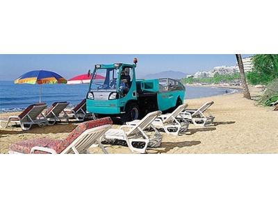 Sahil Temizleme Makinası