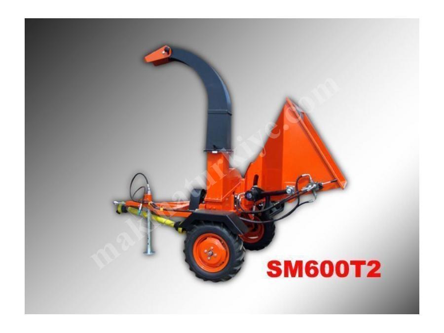 Dal Parçalama Makinası Traktör Modeli (Sm600t)