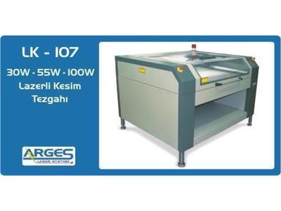 Lazerli Kesim Tezgahı - 2 Eksenli 30 W ( 100 X 70 Cm )