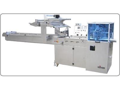 Gezerçene Sistemli Yatay Ambalajlama Makinesi