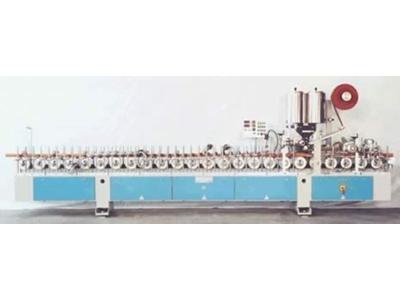 Mdf Sunta Ağaç Alüminyum Profil Laminasyon Makinesi