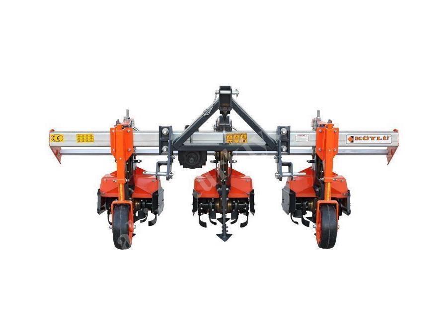 3 Üniteli Frezeli Ara Çapa Makinesi - Köylü Tarım Makina