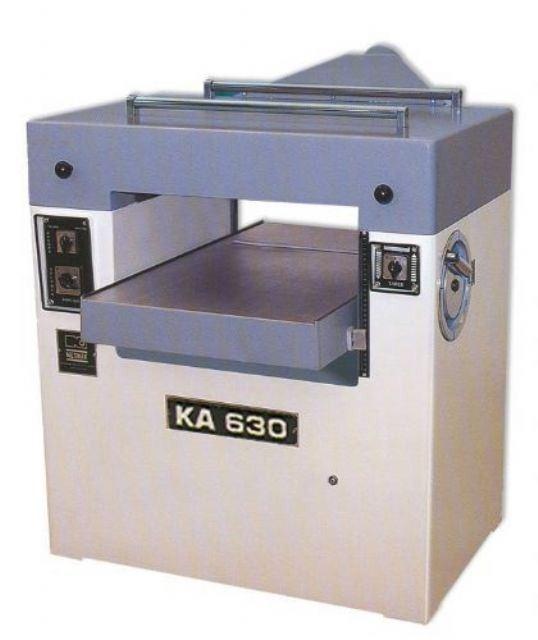 Otomatik Kalınlık Makinası Netmak Ka 630