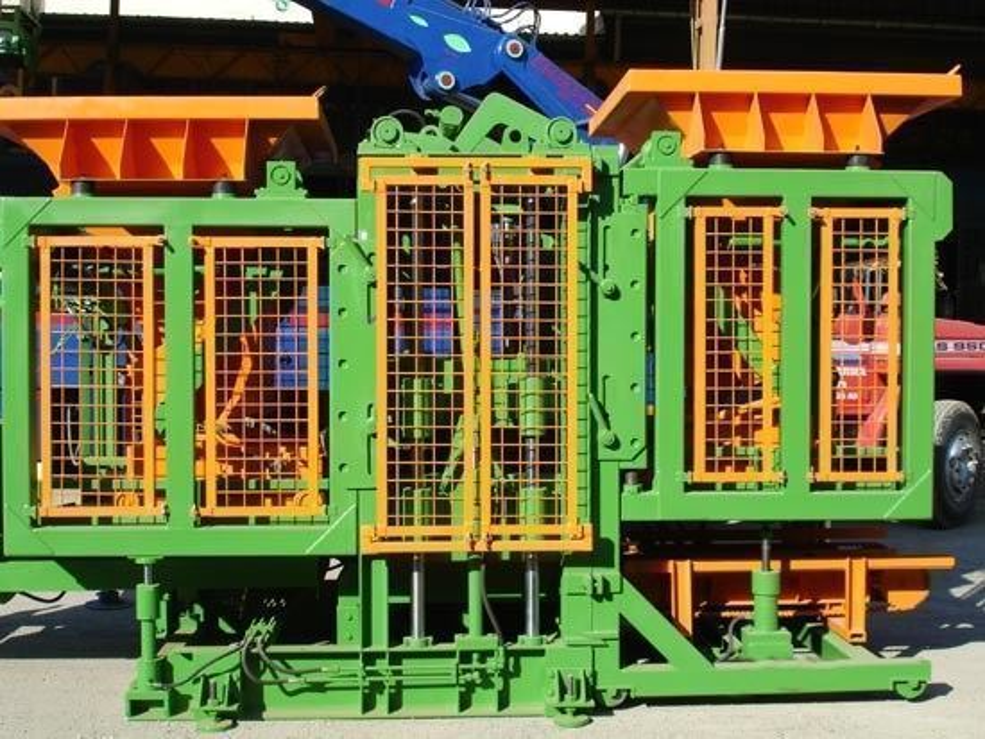 Beton Parke Taşı Makinesi