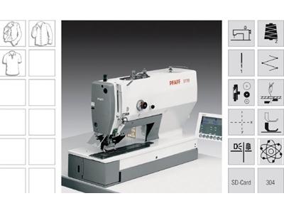 Elektronik Programlı İlik Makinası Pfaff 3119