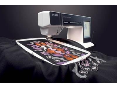 Programlı Dikiş Nakış Makinası Pfaff Creative 5.0 Vision