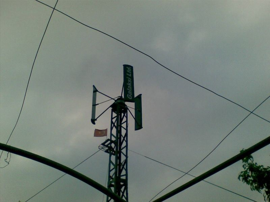 Rüzgar Jeneratörü ( 1500 W 48 V )