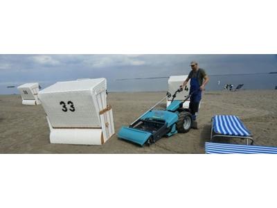 Seyyar Sahil Kumsal Temizleme Makinası