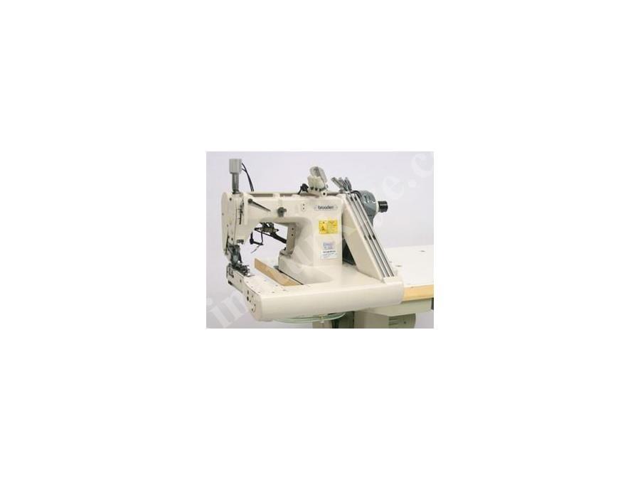 Üç İğne Palet Çektirmeli Kot Kollu Makinası