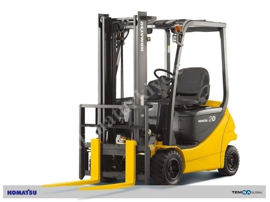2 Ton Akülü Forklift