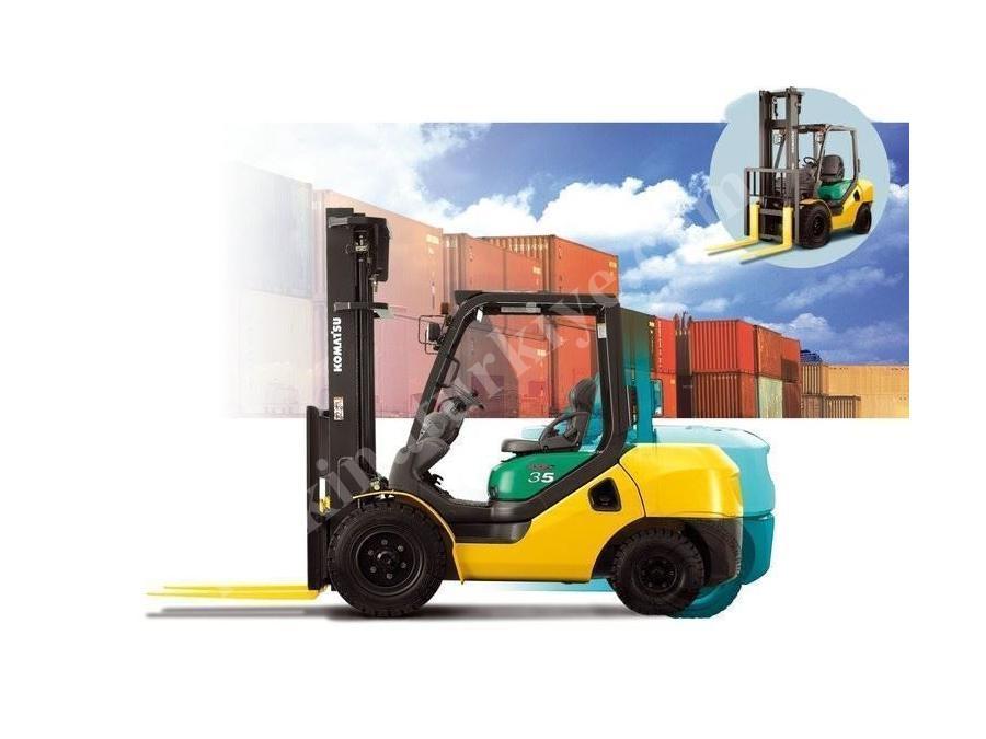 Lpg / Benzinli Forkliftler / Komatsu Fg35at-16