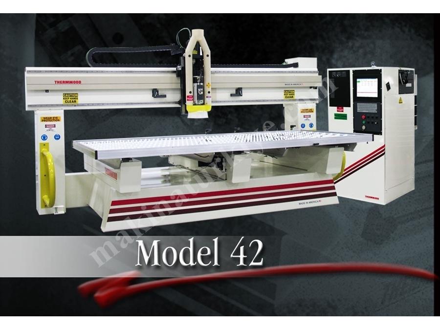 Cnc İşleme Ve Oyma Makinası Thermwood Model 42
