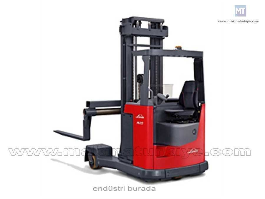 Reach Truck / Linde Electric Four Way Reach Trucks R25 F 2