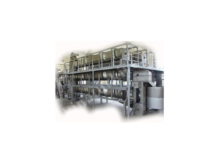 Buharlı 3 Katlı Susam Kavurma Makinası/ Gürmaksan Gms 3000