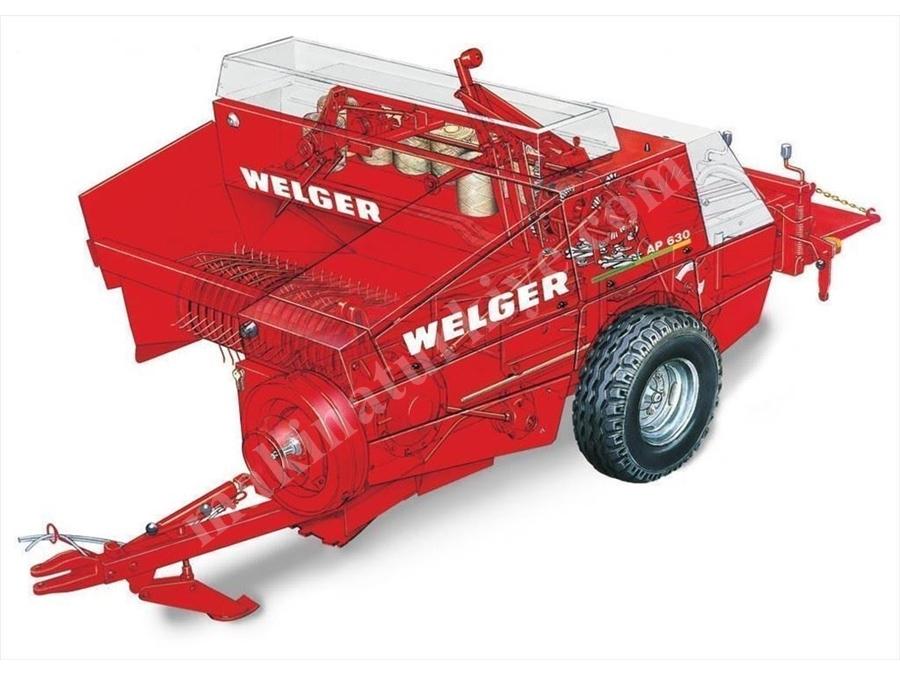 Küçük Prizmatik Balya Makinesi / Welger Ap830