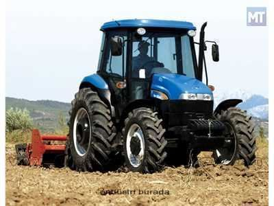 New Holland 80 Hp Traktör 1