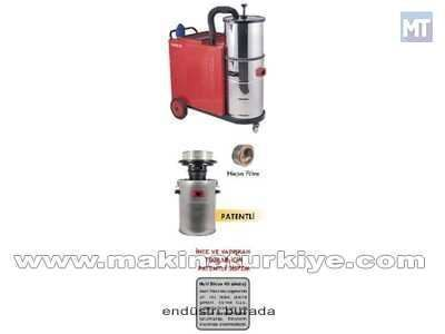 Endüstriyel Trifaze Elektrik Süpürgesi / Taurus 505 Siklon
