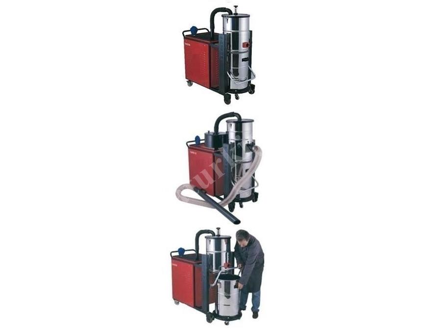 Endüstriyel Trifaze Elektrik Süpürgesi / Taurus 607