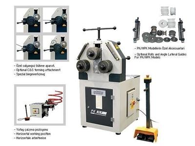 Boru Profil Bükme Makinesi / Şahinler Pk 35 F