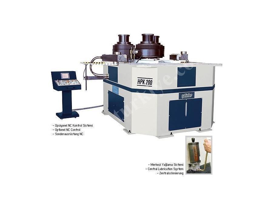 Hidrolik Boru Profil Bükme Makinası