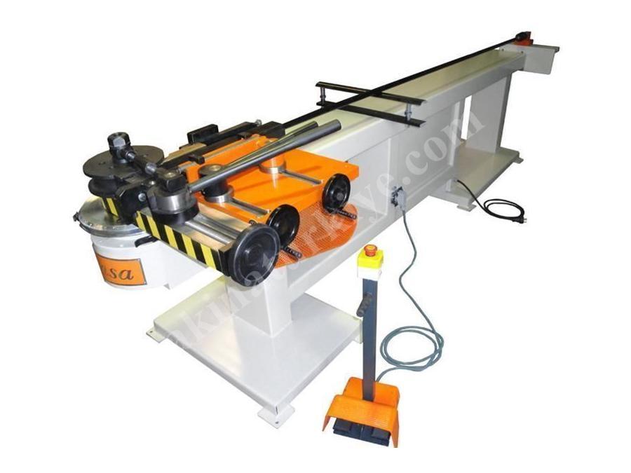 76x4 mm Redüktörlü Boru Bükme Makinası