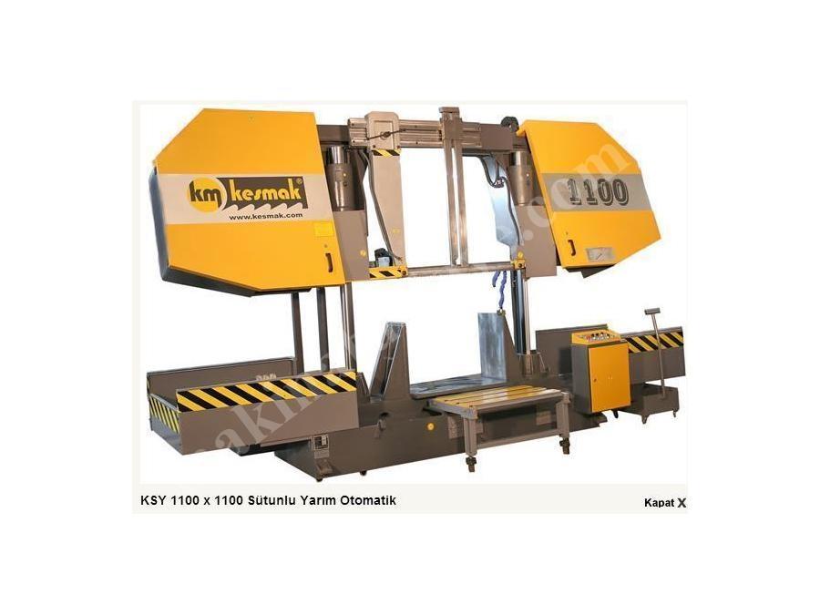 Çift Sütunlu Otomatik Şerit Testere - 1100 mm