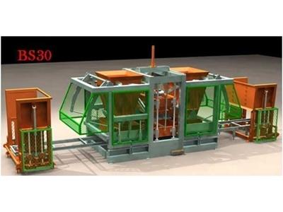 Robotlu Beton Parke Ve Briket Makinesi