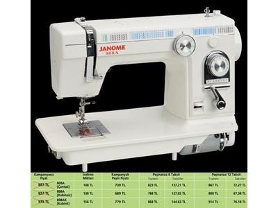 Kabinli Dikiş Makinası -  piko, zigzag, dekoratif dikiş ve desen  / Janome 808a