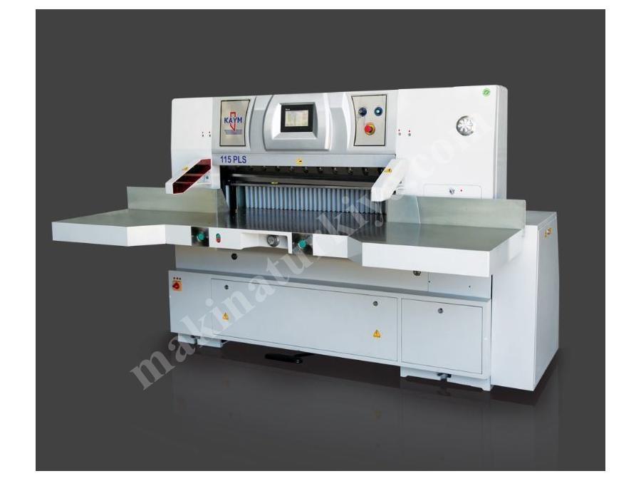 Kaym 115 PLS Tam Otomatik 115 cm Kağıt Kesme Makinası