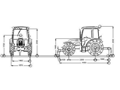 Tümosan Traktör /  Tümosan 65.70 Dtk