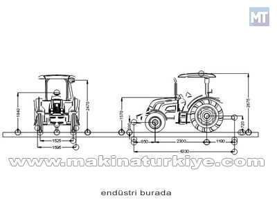 Tümosan Traktör /  Tümosan 75.80 Nt