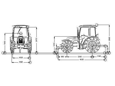 Tümosan Traktör /  Tümosan 75.80 Nk