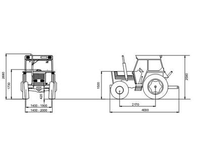 Tümosan Traktör /  Tümosan 65.80 Nk Klasik