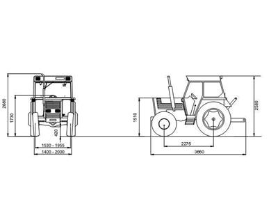 Tümosan Traktör /  Tümosan 65.80 Dtk Klasik