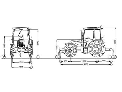 Tümosan Traktör /  Tümosan 85.80 Nkk