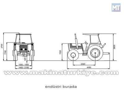 Tümosan Traktör / Tümosan 90.80 Dtt Klasik Tümosan 90.80 DTT Klasik