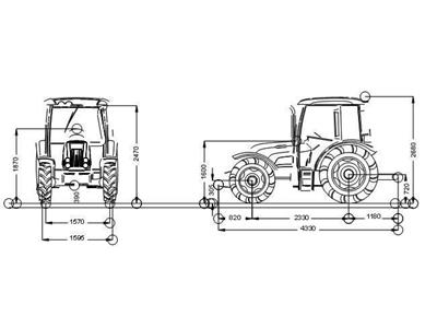 Tümosan Traktör /  Tümosan 75.80 Dtk
