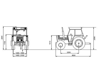 Tümosan Traktör /  Tümosan 70.80 Nk Klasik