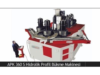Hidrolik Profil Bükme Makinesi / Akbend Apk 360 S