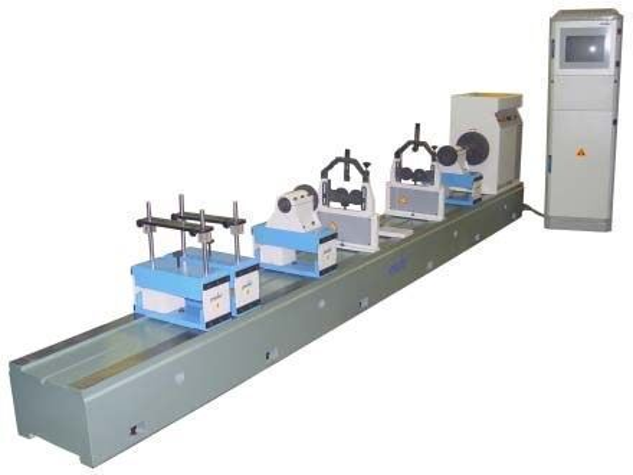 Şaft Balans Makinesi ( Soft Yataklı )
